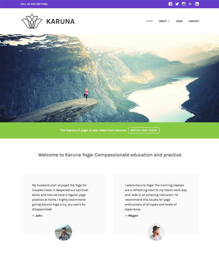 Karuna WordPress Theme